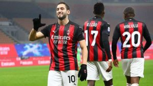 AC Milan đang có lợi thế không nhỏ trong cuộc đua Scudetto