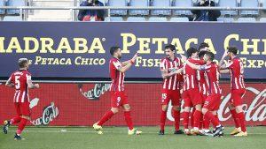 Atletico Madrid hướng tới danh hiệu La Liga sau 7 năm chờ đợi