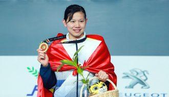 Cô gái vàng trong làng bơi lội Nguyễn Thị Ánh Viên