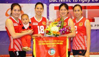 Giải bóng chuyền VĐQG và những cô gái làng quan họ