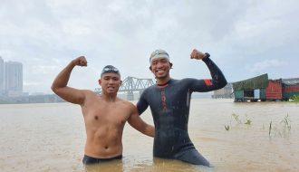 Hành trình bơi 200 km của một nhân viên văn phòng tại Hà Nội