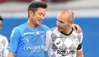 Kazuyoshi Miura ký gia hạn hợp đồng với CLB Yokohama