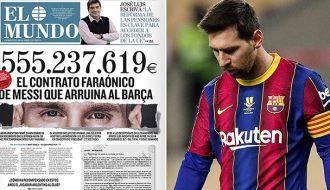 Mối tình Messi – Barca đặt dấu chấm hết, Messi chuẩn bịkiện Barcelona
