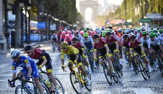 Siêu sao người Ý vô địch giải đua xe đạp Châu Âu