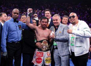 Võ sĩ Pacquiao đã bị tước đai vô địch WBA